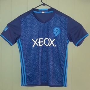 Other - SEATTLE SOUNDERS SOCCER JERSEY ADULT  L